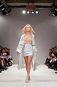 LONDON, ENGLAND - London Fashion Week, S/S 2011 collection by Masha Ma showing at Vauxhall Fashion Scout, Freemason's Hall