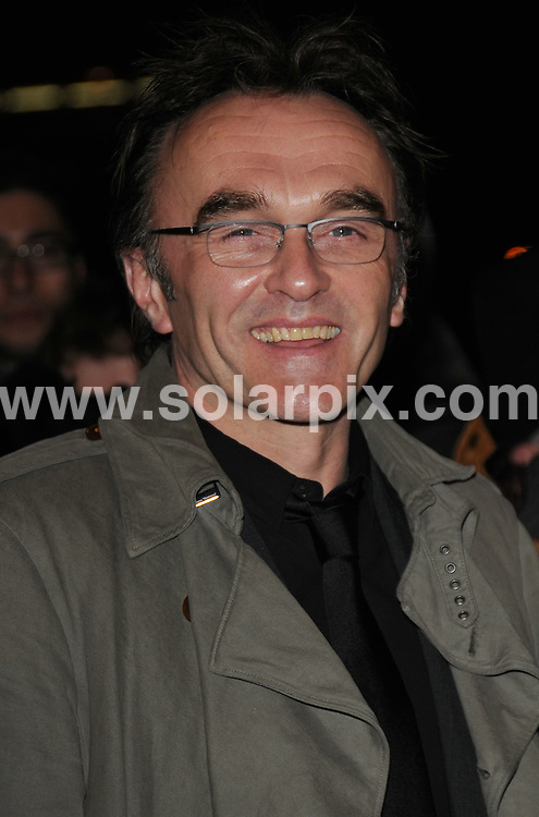 **ALL ROUND PICTURES FROM SOLARPIX.COM**.**WORLDWIDE SYNDICATION RIGHTS**.Red carpet arrivals and Press Room at The London Critics' Circle Film Awards held at the Grosvenor House Hotel, Park Lane, Mayfair, London, UK. 4 February 2009..This pic: Danny Boyle..JOB REF: 8412 BTT      DATE: 04_02_2009.**MUST CREDIT SOLARPIX.COM OR DOUBLE FEE WILL BE CHARGED**.**ONLINE USAGE FEE  GBP 50.00 PER PICTURE - NOTIFICATION OF USAGE TO PHOTO @ SOLARPIX.COM**