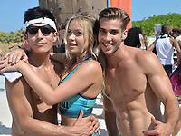 www.acepixs.com<br /> <br /> March 11 2017, Miami<br /> <br /> Models compete at the 8th Annual Model Volleyball Tournament for South Beach Supremacy at Lummus Park, 8th &amp; Ocean Drive on March 11, 2017 in Miami Beach, Florida. <br /> <br /> By Line: Solar/ACE Pictures<br /> <br /> ACE Pictures Inc<br /> Tel: 6467670430<br /> Email: info@acepixs.com<br /> www.acepixs.com