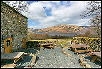 BNPS.co.uk (01202)558833<br /> Pic:    Savills/BNPS<br /> <br /> The stunning views from Lowther Barn.<br /> <br /> A country estate that has its own farm, tea rooms and glamping business in the heart of the Lake District has gone on market for those looking to escape the rat race.<br /> <br /> Backside Farm sits on the banks of Ullswater - the second largest lake in the Cumbrian National Park - and has one mile of water access as well as stunning views of the mountains. <br /> <br /> The outgoing owners have been on the 195 acre estate for over a decade and in that time they have renovated the large five bedroom farmhouse.<br /> <br /> They also set up the tea rooms and two holiday rental cabins and have established them as a business.