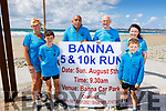 Attending the launch of the Banna 5 and 10k run in Banna Beach on Saturday.<br /> L-r Moira and Aaron Horgan, Shaz Malik, David Kissane, Irene Butler and Kevin Horgan.
