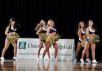 Florida International University Golden Dazzlers perform during the game against Bowling Green State University, which won the game 61-53 on December 22, 2011 at Miami, Florida. .