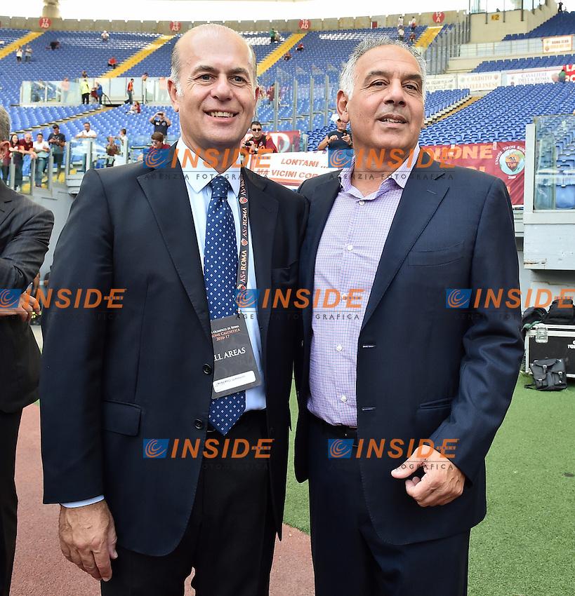 Umberto Gandoni e James Pallotta<br /> Roma 11-09-2016 Stadio Olimpico, Football Calcio 2016/2017 Serie A. AS Roma - Sampdoria . Foto Andrea Staccioli / Insidefoto