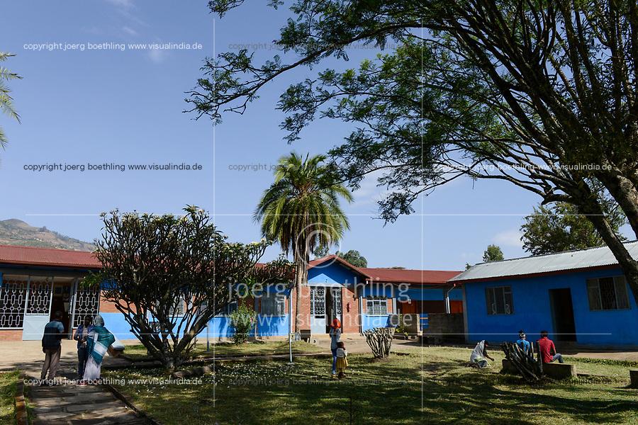ETHIOPIA Taza Catholic Health Center / AETHIOPIEN Taza Catholic Health Center