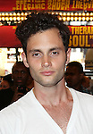 Penn Badgley.attending the opening night of the Broadway limited engagement of 'Fela!' at the Al Hirschfeld Theatre on July 12, 2012 in New York City.