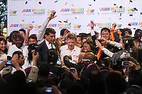 BOGOTA -COLOMBIA. 12-03-2014. El presidente Juan Manuel Santos Calderon presento en El Claustro de La Enseñanza su imagen de campaña para la presidencia de la Republica de Colombia para el periodo  2014-2018 / President Juan Manuel Santos Calderon presented in El Claustro de La Enseñanza your image campaign for the presidency of the Republic of Colombia for the period 2014-2018.  Photo: VizzorImage/ Felipe Caicedo
