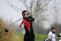 Vivienne Buehle (Germany) during the Irish Girls' Open Stroke Play Championship, Roganstown Golf Club, Swords, Ireland. 13/04/2018.<br /> Picture: Golffile | Fran Caffrey<br /> <br /> <br /> All photo usage must carry mandatory copyright credit (&copy; Golffile | Fran Caffrey)