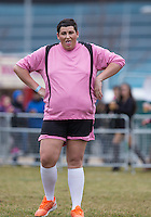 DAVID (IBIZA WEEKENDER) during the SOCCER SIX Celebrity Football Event at the Queen Elizabeth Olympic Park, London, England on 26 March 2016. Photo by Andy Rowland.