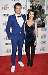 HOLLYWOOD, CA - NOVEMBER 09: Producer Kyle Tekiela (L) and wife Nicole Tekiela attend the screening of Netflix's 'Mudbound' at the Opening Night Gala of AFI FEST 2017 presented by Audi at TCL Chinese Theatre on November 9, 2017 in Hollywood, California.