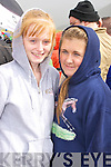 Moyvane girls Denise Holly and Michelle Brosnan at the Glenbeigh Races on Saturday afternoon.   Copyright Kerry's Eye 2008