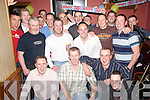PARTY: Jerry Cronin (centre) enjoying his 30th birthday in ORiains Bar, Killarney, on Friday evening along with family and friends..