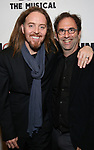 Tim Minchin and Danny Rubin attend the Broadway Opening Night After Party for 'Groundhog Day' at Gotham Hall on April 17, 2017 in New York City.