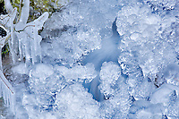 Ice near Multnomah Falls. Oregon