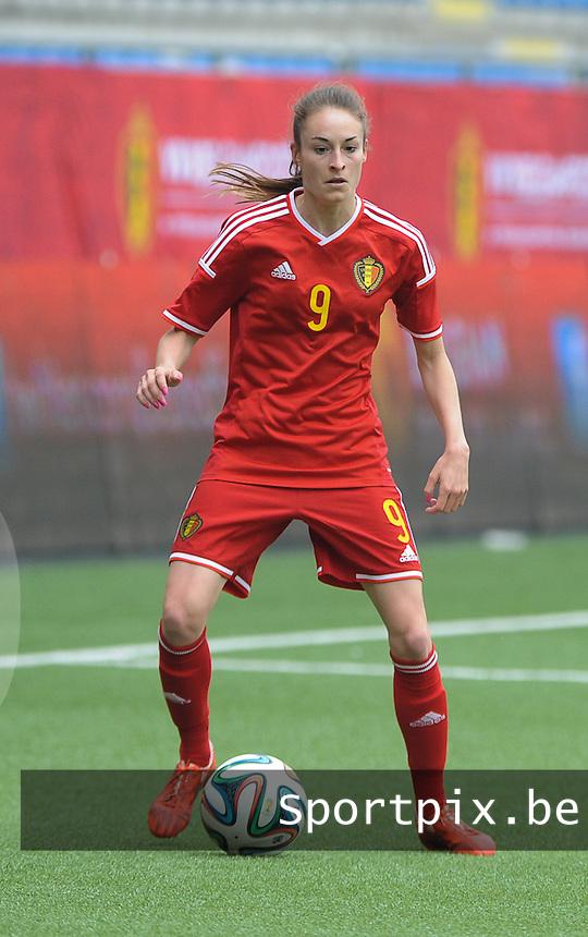 Belgian Red Flames - Noorwegen :<br /> <br /> Tessa Wullaert<br /> <br /> foto VDB / BART VANDENBROUCKE