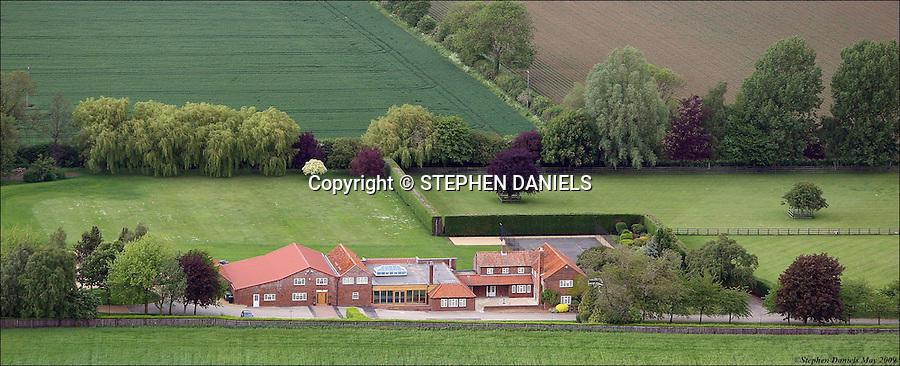 PHOTO &copy;  Stephen Daniels  22/05/2009<br /> The Grange Spa, Pointon, Lincolnshire.<br /> Aerial