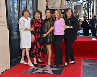 Eva Longoria, Ella Eva Mireles &amp; Sisters at the Hollywood Walk of Fame Star Ceremony honoring actress Eva Longoria, Los Angeles, USA 16 April 2018<br /> Picture: Paul Smith/Featureflash/SilverHub 0208 004 5359 sales@silverhubmedia.com