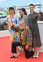 """Rossy De Palma, Joana Ribeiro, Olga Kurylenko & Terry Gilliam at the photocall for """"The Man Who Killed Don Quixote"""" at the 71st Festival de Cannes, Cannes, France 19 May 2018<br /> Picture: Paul Smith/Featureflash/SilverHub 0208 004 5359 sales@silverhubmedia.com"""