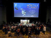 """LOS ANGELES - APRIL 15: Guests view animals at an FYC screening and Q&A for National Geographic's """"Hostile Planet"""" at NeueHouse on April 15, 2019 in Los Angeles, California. (Photo by Frank Micelotta/National Geographic/PictureGroup)"""