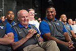 16FTB Media Day 2550<br /> <br /> 16FTB Media Day<br /> <br /> Hosted by BYU Broadcasting<br /> <br /> May 30, 2016<br /> <br /> Photo by Jaren Wilkey/BYU<br /> <br /> &copy; BYU PHOTO 2016<br /> All Rights Reserved<br /> photo@byu.edu  (801)422-7322