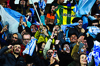 Fans in the terraces during the Rugby Championship match between the NZ All Blacks and Argentina Pumas at Yarrow Stadium in New Plymouth, New Zealand on Saturday, 9 September 2017. Photo: Dave Lintott / lintottphoto.co.nz