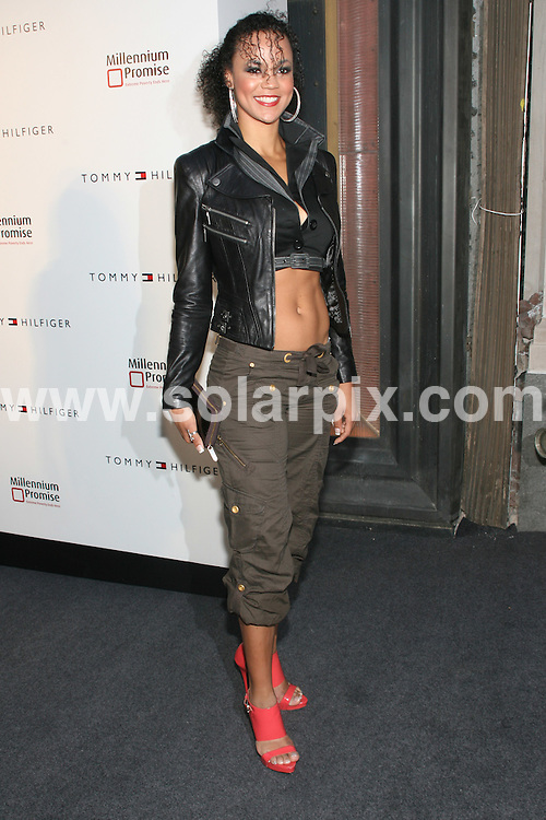 **ALL ROUND PICTURES FROM SOLARPIX.COM**.**SYNDICATION RIGHTS FOR UK, AUSTRALIA, DENMARK, PORTUGAL, S. AFRICA, SPAIN & DUBAI (U.A.E) ONLY**.Arrivals for the Tommy Hilfiger Fifth Avenue Global Flagship Store Opening, 5th Avenue, New York City, NY, USA. 17 September 2009..This pic: Miss Denmark 2008..JOB REF: 9960 PHZ (Gaboury)   DATE: 17_09_2009.**MUST CREDIT SOLARPIX.COM OR DOUBLE FEE WILL BE CHARGED**.**MUST NOTIFY SOLARPIX OF ONLINE USAGE**.**CALL US ON: +34 952 811 768 or LOW RATE FROM UK 0844 617 7637**