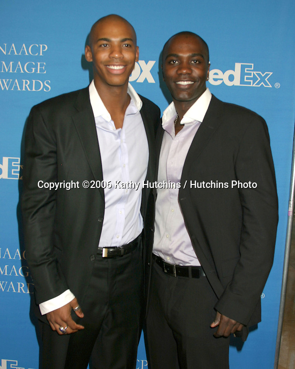 "Mehcad Brooks.NaShawn Kearse.""Desperate Housewives"".NAACP Image Award Nominees Luncheon.Beverly Hilton Hotel.Beverly Hills, CA.February 11, 2006.©2006 Kathy Hutchins / Hutchins Photo...."