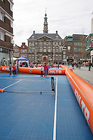 April 17, 2015, Netherlands, Den Bosch, Maaspoort, Fedcup Netherlands-Australia,  Street tennis<br /> Photo: Tennisimages/Henk Koster