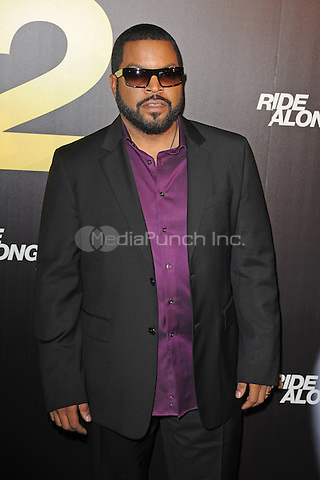 MIAMI BEACH, FL - JANUARY 06: Ice Cube attends the world premiere of 'Ride Along 2' at Regal South Beach Cinema on January 6, 2016 in Miami Beach, Florida. Credit: mpi04/MediaPunch