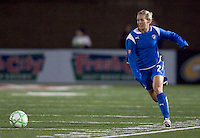 Boston Breakers defender Heather Mitts (2). The Boston Breakers defeated Saint Louis Athletica, 2-0, at Harvard Stadium on April 11, 2009.
