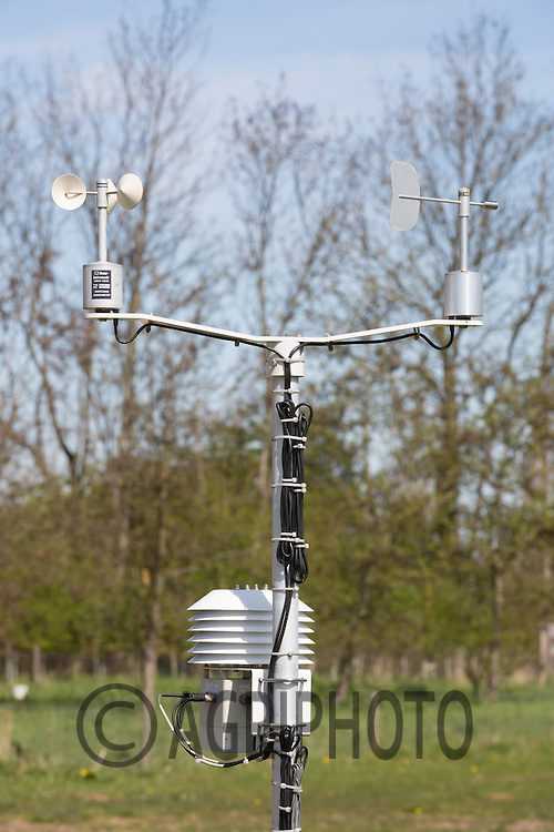 Weather station.Picture Tim Scrivener 07850 303986.tim@agriphoto.com.?.covering agriculture in the UK?.