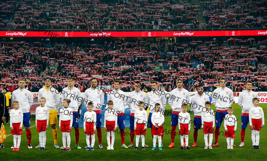 Poljska - Srbija prijateljska, Poland - Serbia friendly football match, March 23. 2016. Poznan  (credit image & photo: Pedja Milosavljevic / STARSPORT)
