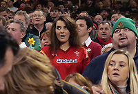Welsh fans in good sprits prior to kick off<br /> <br /> Photographer Ian Cook/CameraSport<br /> <br /> Under Armour Series Autumn Internationals - Wales v South Africa - Saturday 24th November 2018 - Principality Stadium - Cardiff<br /> <br /> World Copyright &copy; 2018 CameraSport. All rights reserved. 43 Linden Ave. Countesthorpe. Leicester. England. LE8 5PG - Tel: +44 (0) 116 277 4147 - admin@camerasport.com - www.camerasport.com