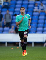 John Terry of Aston Villa warms up ahead of the Sky Bet Championship match between Reading and Aston Villa at the Madejski Stadium, Reading, England on 15 August 2017. Photo by Andy Rowland / PRiME Media Images.<br /> **EDITORIAL USE ONLY FA Premier League and Football League are subject to DataCo Licence.