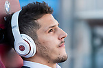 Stevan Jovetic of Sevilla FC prior to the La Liga match between Atletico de Madrid and Sevilla FC at the Estadio Vicente Calderon on 19 March 2017 in Madrid, Spain. Photo by Diego Gonzalez Souto / Power Sport Images