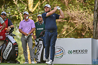 Tyrrell Hatton (ENG) watches his tee shot on 16 during round 3 of the World Golf Championships, Mexico, Club De Golf Chapultepec, Mexico City, Mexico. 2/23/2019.<br /> Picture: Golffile | Ken Murray<br /> <br /> <br /> All photo usage must carry mandatory copyright credit (© Golffile | Ken Murray)