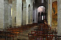 18/01/12 - EBREUIL - ALLIER - FRANCE - Eglise romane Saint Leger d Ebreuil - Photo Jerome CHABANNE