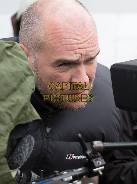 John Michael McDonagh (Director)<br /> on the set of Calvary (2014) <br /> *Filmstill - Editorial Use Only*<br /> CAP/NFS<br /> Image supplied by Capital Pictures