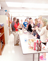 COURTESY PHOTO FFA members are pictured at an ice cream social.