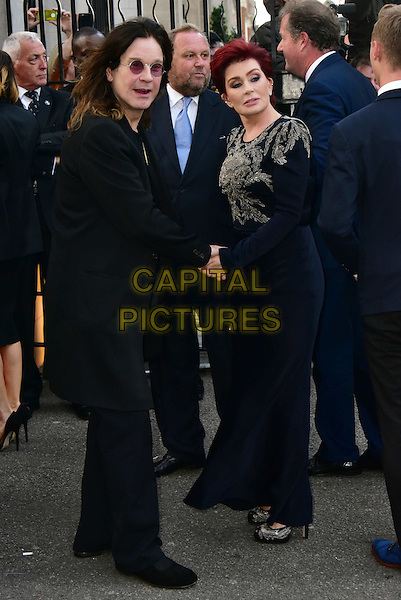 LONDON, ENGLAND - SEPTEMBER 28: Ozzy Osbourne, Sharon Osbourne attends the Pride of Britain awards at The Grosvenor House Hotel on September 28, 2015 in London, England.<br /> CAP/JOR<br /> &copy;JOR/Capital Pictures