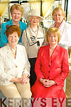 STYLE: Pictured in the Ballyroe Heights Hotel on Friday at the launch of the Failte Ladies Probas Club annual fashion show were front l-r: Hannah O'Sullivan and Eileen Cantillon. Back l-r: Carmel O'Sullivan, Phil Hussey and Connie Lynch.   Copyright Kerry's Eye 2008