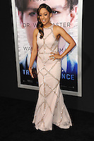 Tia Mowry at the Los Angeles premiere of &quot;Transcendence&quot; at the Regency Village Theatre, Westwood.<br /> April 10, 2014  Los Angeles, CA<br /> Picture: Paul Smith / Featureflash