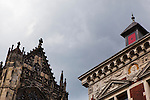 Dom Kerk and Utrecht University buildings on the skyline, Utrecht