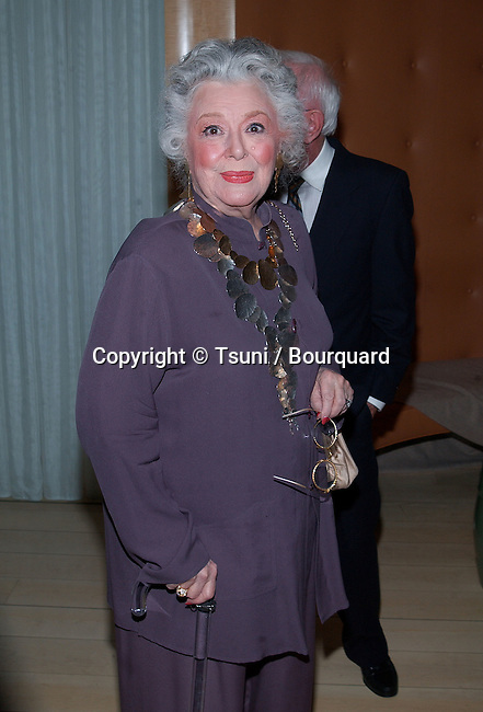 Anne Rutherford arriving at the engagement party for Liza Minelli and David Gest at the SkyBar, Mondrian Hotel in Los Angeles. February 21, 2002.           -            RutherfordAnne15.jpg