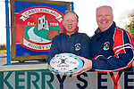 Castleisland Rugby Club are calling on everyone to donate old clothes to the club for a clothes recycling fund-raiser. <br /> L-R Colm Murphy (youth officer) and Gerard Murphy (PRO).