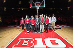 "Wisconsin Badgers honored the late Albert ""Ab"" Nicholas during halftime of an NCAA Big Ten Conference men's college basketball game against the Ohio State Buckeyes Thursday, January 12, 2017, in Madison, Wisconsin. The Badgers won 89-66. (Photo by David Stluka)"