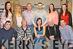BIRTHDAY: Mary Allen who celebrated her 28th birthday with family on Saturday night in The Sea Food Restaurant, The Spa, Tralee on Satruday night, Front l-r: Dara Stack, Noreen William, Mary Allen, Maurice William, and Maurice Williams (jnr). Back l-r: Denise Williams, Jean Walsh, John Williams, Martin Allen, Jenny Williams and Thresse Williams.....