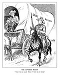 """The Covered Wagon. """"There's bad men around. Reckon I'd better see you through."""""""