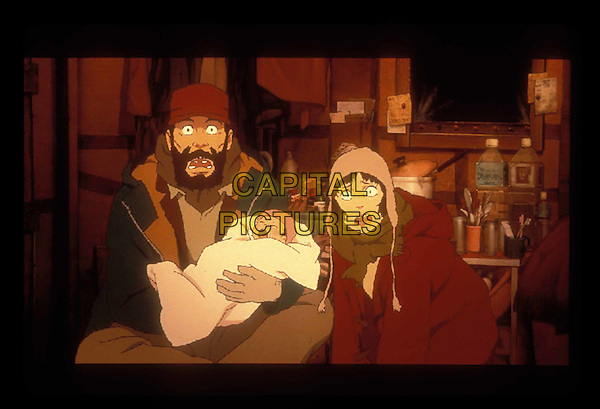 Tokyo Godfathers.Filmstill - Editorial Use Only.Ref: FB.www.capitalpictures.com.sales@capitalpictures.com.Supplied by Capital Pictures