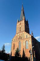 Jakobikirche (Sw. Jakuba) in Stettin (Szczecin), Woiwodschaft Westpommern (Wojew&oacute;dztwo zachodniopomorskie), Polen, Europa<br /> Church Sw. Jakuba  in Szczecin, Poland, Europe