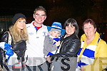 Deirdre Doody, Neil Sullivan, Shane O'Connell, Catriona O'Connell and Mary O'Sullivan at the Castleisland Desmonds team homecoming in Castleisland on Saturday night.